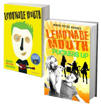 Lemonade Mouth & Lemonade Mouth Puckers Up books